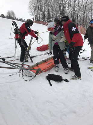 Holimont Ski Area - Would like to say thanks to a great ski patrol for helping my daughter yesterday. We will be back soon. Thank you - © Jack Coey