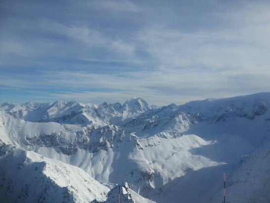 Val Thorens - Very windy. Piste are OK. Off-pistes close  to non. - ©N.B.