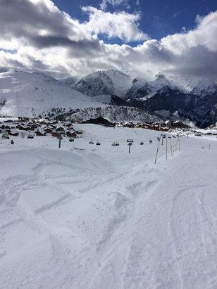 Alpe d'Huez - Trop cool cette poudreuse.... - © pob77