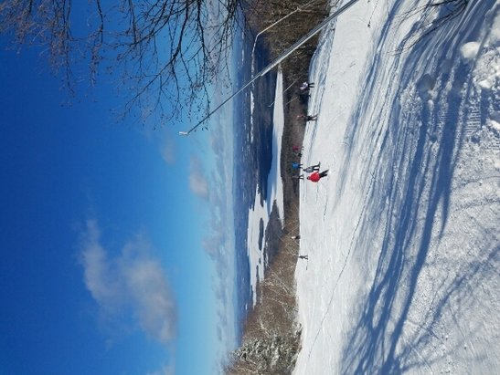 Mount Sunapee - Great skiing today. Temp in the high teens.. Great trails..  - © Hermannmaier