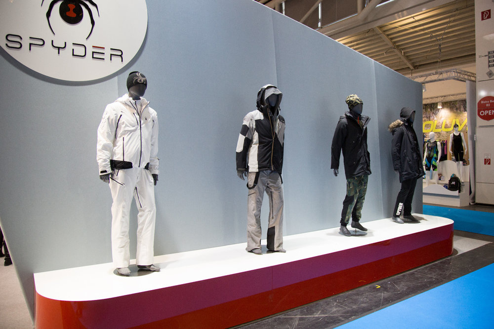 ISPO 2017 : Sur le stand Spyder - ©Skiinfo