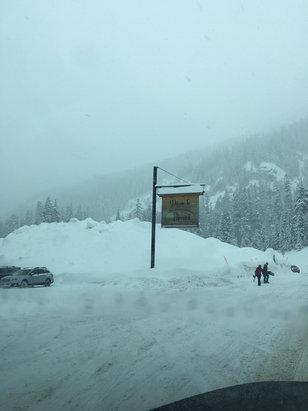 Alpental - Crazy good snow at Alpental! - ©Mitch's iPhone