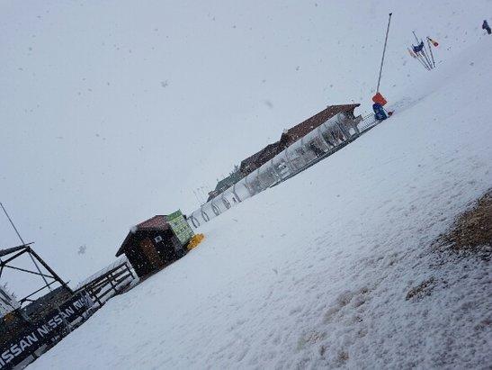 Campo Felice - Rocca di Cambio - chi verrà domani troverà una giornata e neve perfette  - © Anonimo