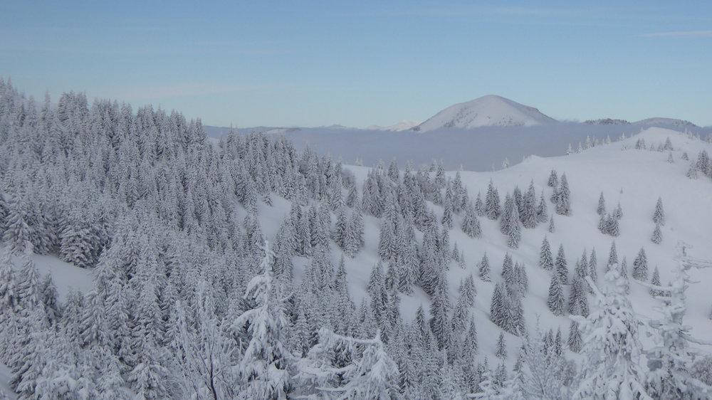 Donovaly after snowfall (2.2.2017) - © PARK SNOW Donovaly