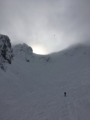 Revelstoke Mountain Resort - 2 incredible powder days on fri/sat. Great terrain and glades - © JimPeel iPhone