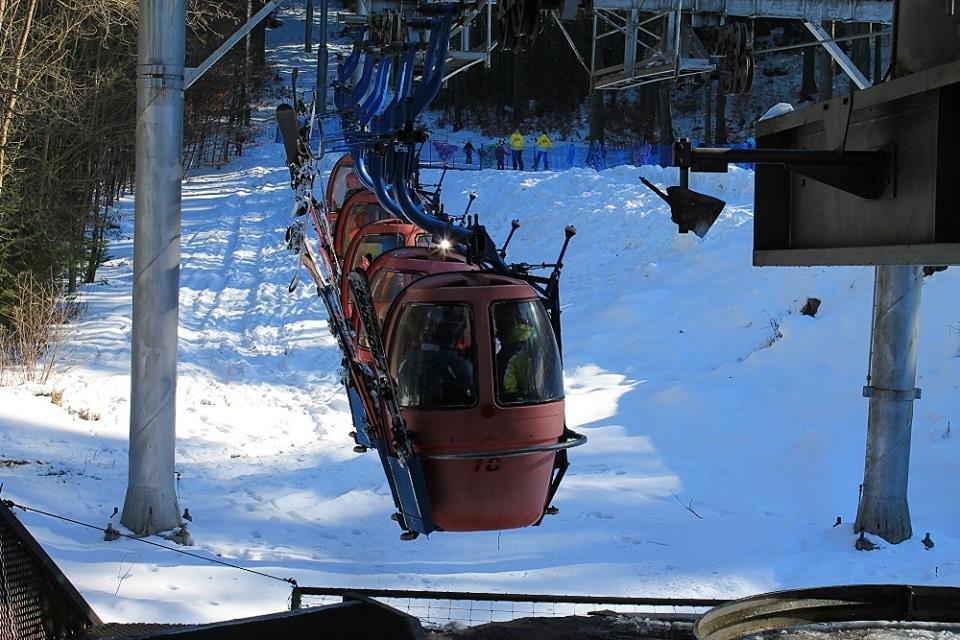 Skiareál Mariánské Lázně - © facebook Skiareál Mariánské Lázně