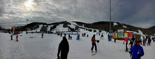 Stoneham - Ski'd all day with great conditions.  POW!! - © SkiDad3020