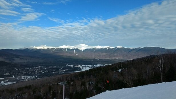 Bretton Woods - Conditions were awesome, views were great, and the glades were to die for! - © Leo