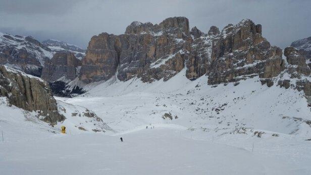 Alta Badia - Corvara - La Villa - S. Cassiano - Monte Laguazoi, uno scenario mozzafiato. Grande neve. - © Bizio0803
