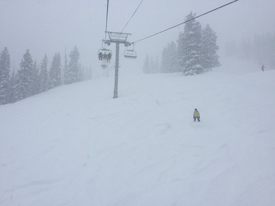 Snowbird - Insane! Doesn't get better than this. Plenty of snow for everyone. - © Ian