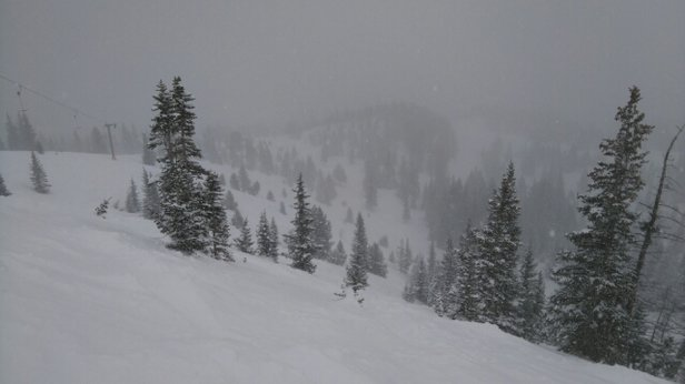 Copper Mountain Resort - excellent conditions today.  fun for expert skiing.  - © anonymous