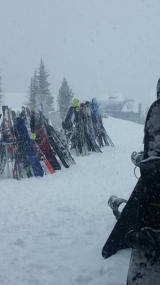 Winter Park Resort - Tuesday afternoon at lunch rock.  - © anonymous