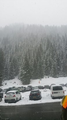 Avoriaz - a lot of lifts closed yesterday from high winds - © eoinfoxx
