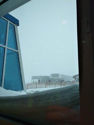 Kitzsteinhorn - Kaprun - schneefall und keine sehen - © adamplecer