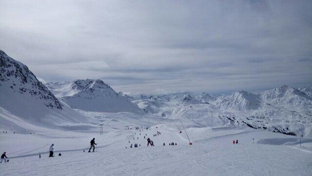 Montchavin - La Plagne - La Plagne !!! Que c'est beau !  - © La Découragée De Skier E