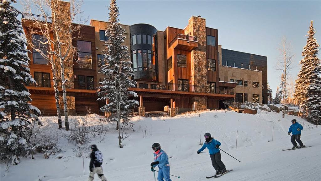 The over-the-top, Over The Edge Chalet.