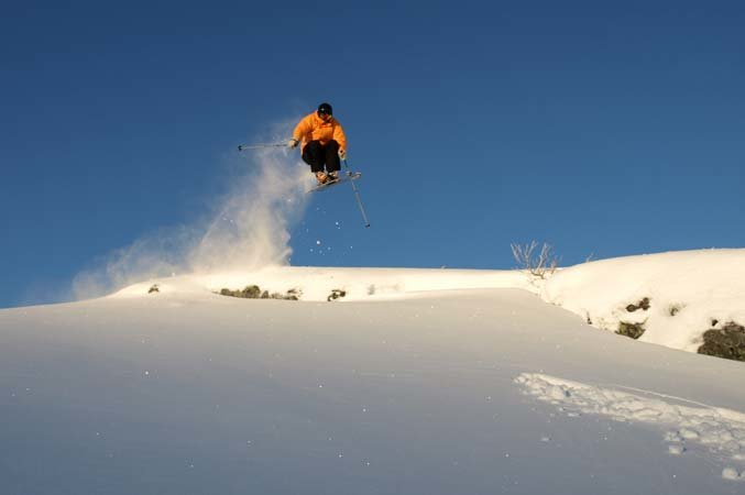 Freeskier at Voss Resort, Norway - ©Voss Resort