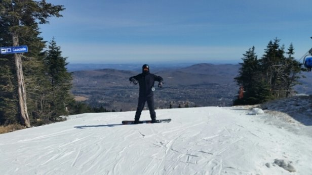 Mount Snow - great day at snow