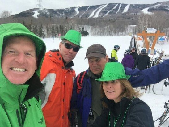 Mont Sainte Anne - great apres,ski for st patricks!  - © Boston bob
