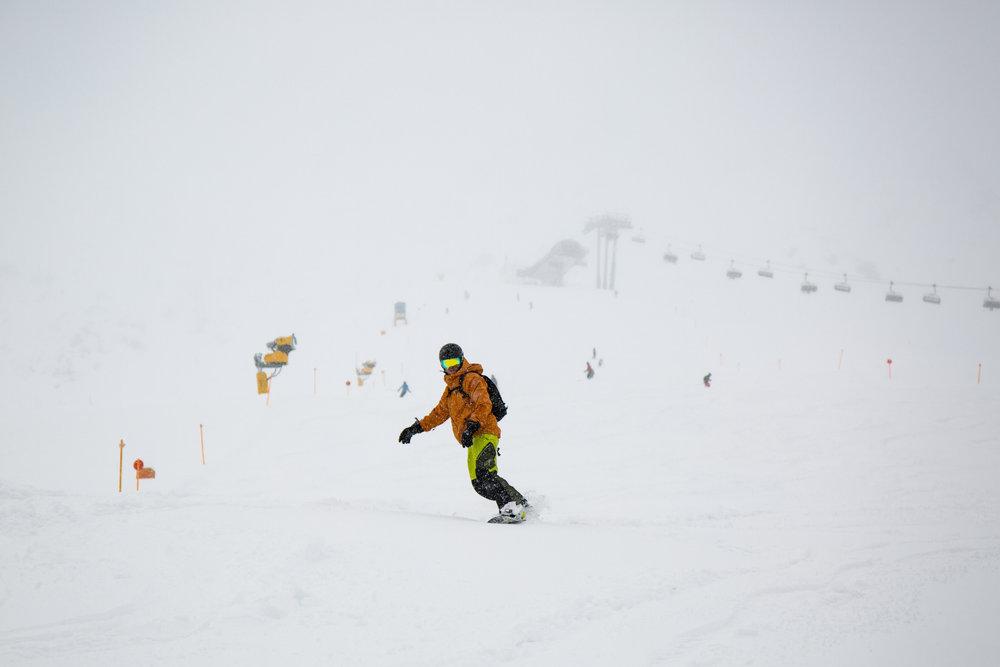 Abfahrt vom Plansegg (2378 Meter) - © Skiinfo