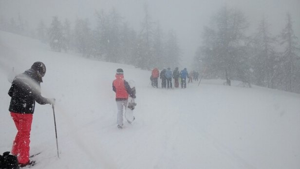 Claviere - Vialattea - Thick snow.. Sunday 2nd April... Great fun!  - © anonymous
