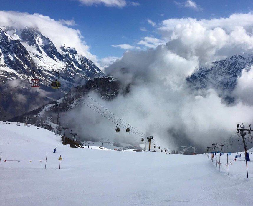 Courmayeur, Marzo 2017 - © Courmayeur Mont Blanc Funivie Facebook
