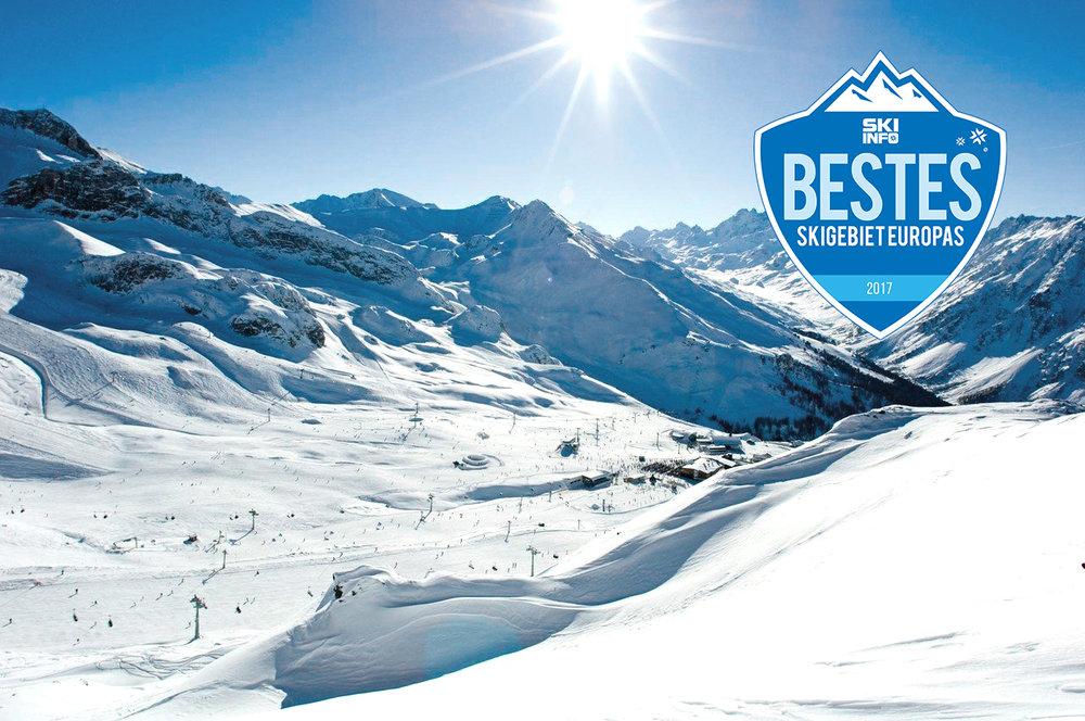 Das Skigebiet Ischgl-Samnaun war in unserem Winter-Voting 2016/2017 in fast allen Kategorien der Sieger! - © TVB Paznaun