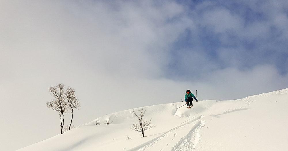 Nå er det 25 cm nysnø og nydelige forhold i Eikedalen Skisenter. Alt ligger til rette for en strålende vinterferieuke. - © Arild Gravdal