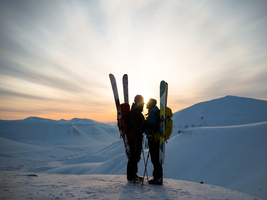 Trolsk stemning: Trollsteinen er en topptur som er lett tilgjengelig fra Longyearbyen. - © Vigdis Skogly