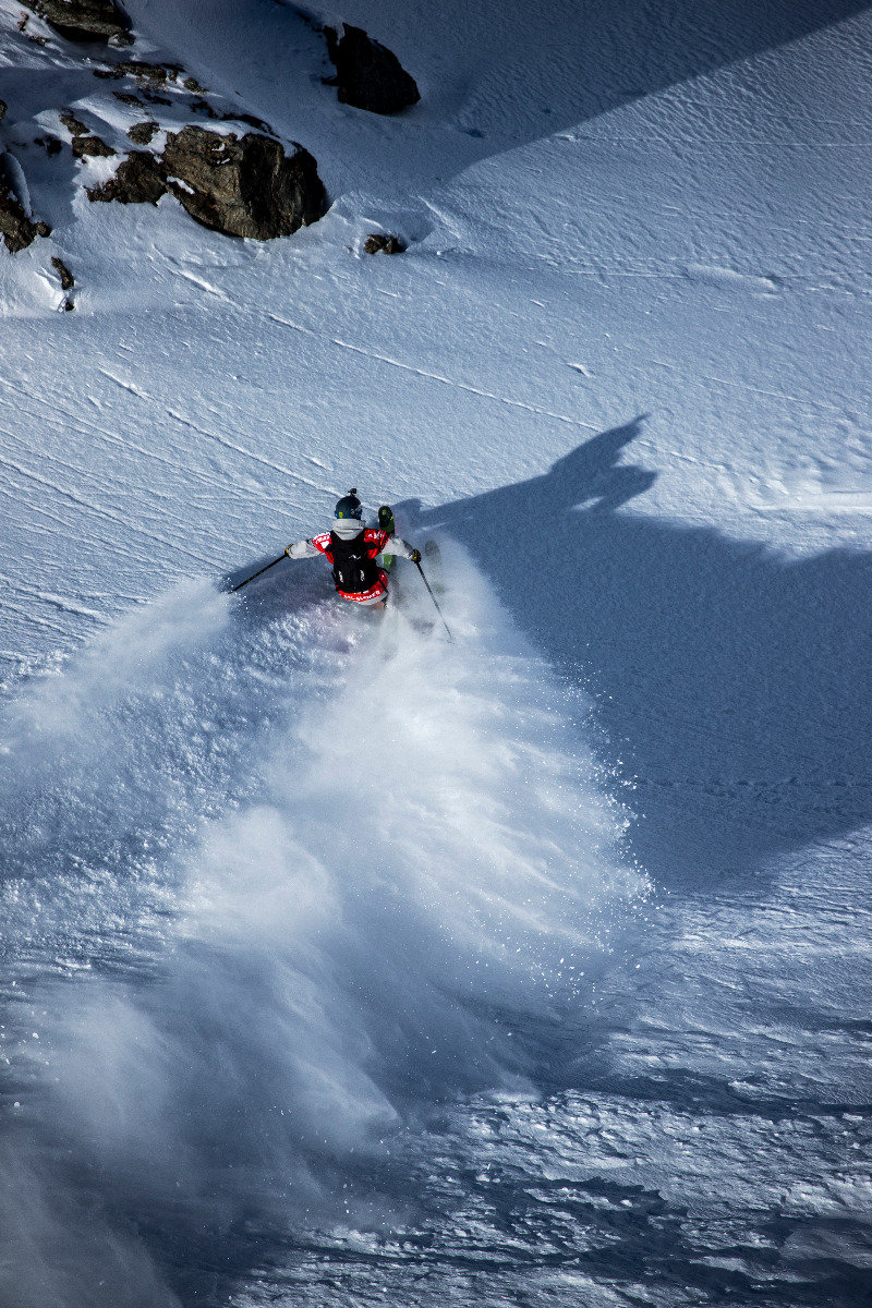 Freeride World Tour Verbier 2017 - © Freeride World Tour / J. Bernard