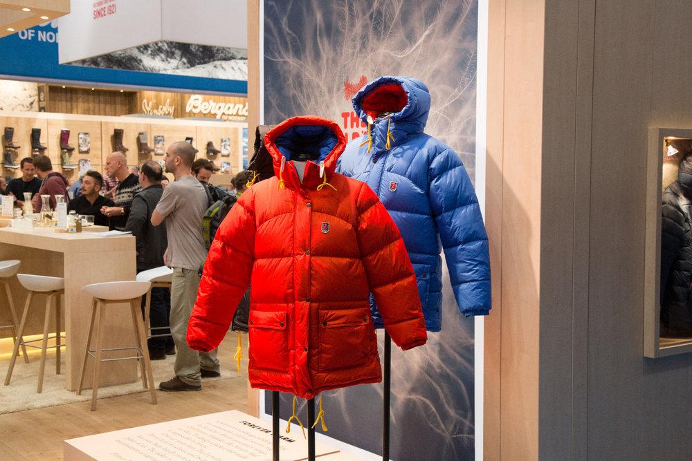 Zimní oblečení Ziener 2017 18 - © Skiinfo. ISPO 2017  Na stánku Fjällraven  - © Skiinfo 202b2203b7
