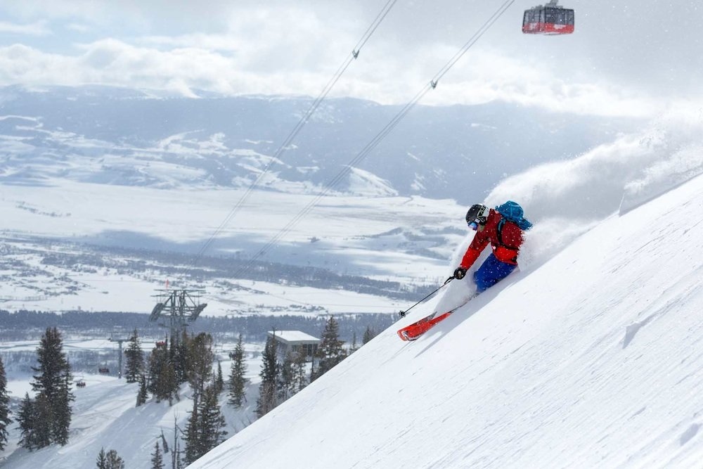 Deep thoughts at Jackson Hole. - ©  Jackson Hole Mountain Resort