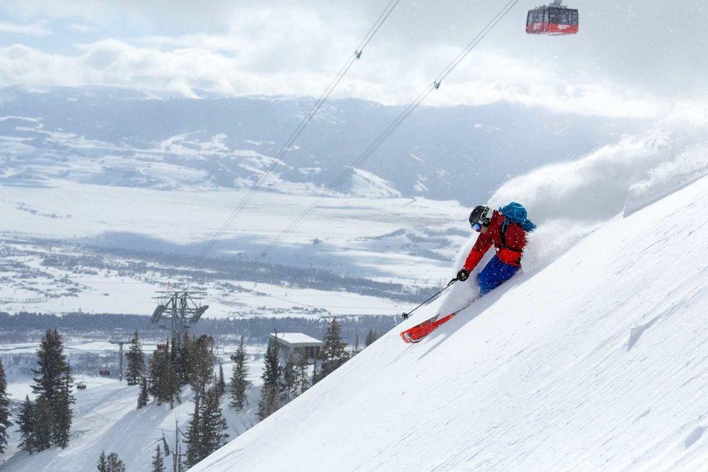 De favoriete seizoensfoto's van onze US-collega's. - ©  Jackson Hole Mountain Resort