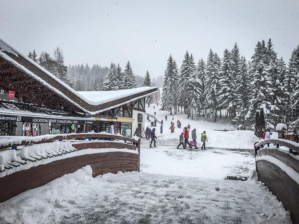 Un 1er mars sous la neige aux Arcs - © Les Arcs
