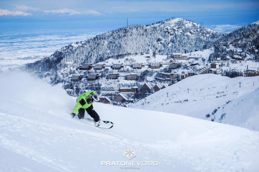Prato Nevoso Mondolè Ski 06.02.17 - © Prato Nevoso Ski Facebook