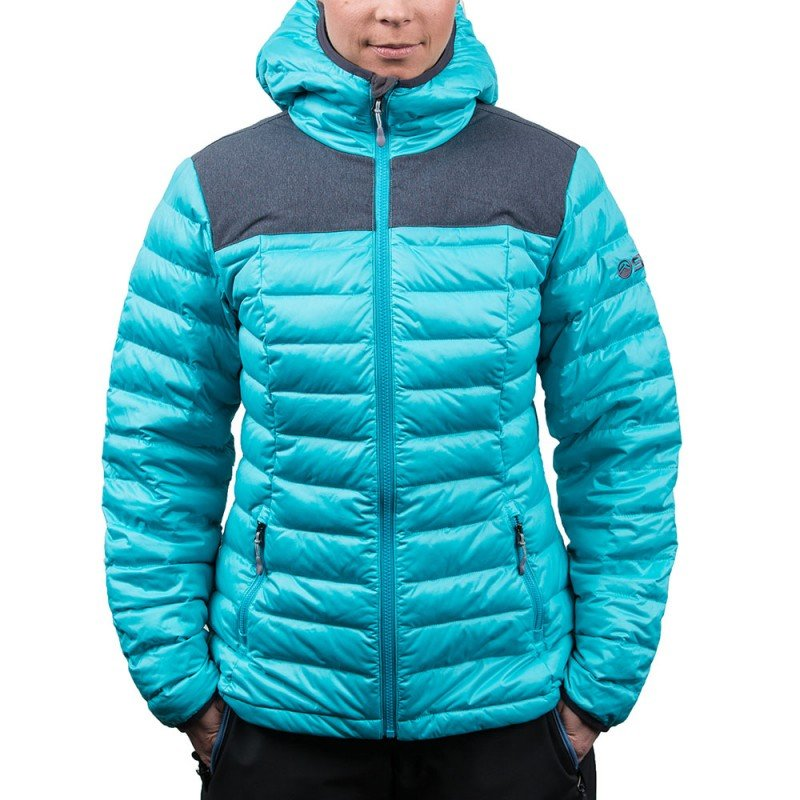 SYNC Stretch Puffy Jacket: $299 (special price: $194.35) Whether worn as an insulated outer layer on a colder ski day, out and about mountain town or both, this Primaloft puffy delivers warmth and performance in style. Offered in three cool colorways for men and women. - © SYNC
