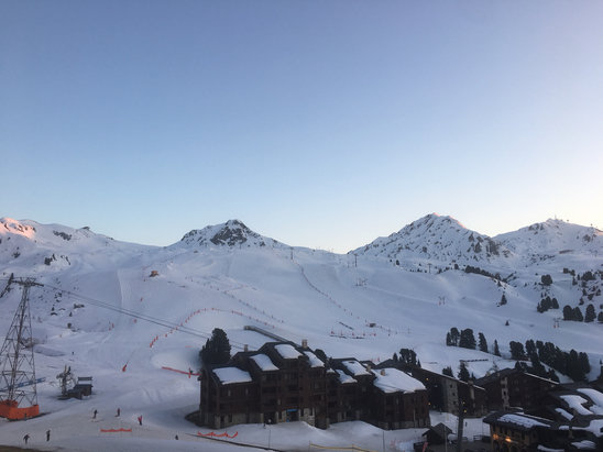 La Plagne - The snow on the slopes are good in the morning but not great in the early afternoon to evening.  - © Tom