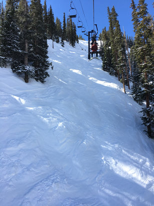 Arapahoe Basin Ski Area - Saturday was great! Sunshine and corn conditions! The ski season is still alive and well!  - ©Lonewolf