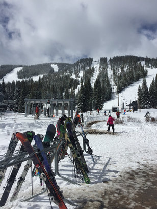Winter Park Resort - Beautiful day and more powder on the way!  Why are they closing? - © Nigel's iPhone