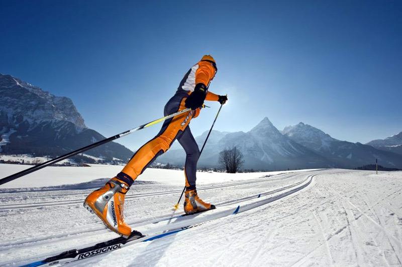 Langlaufen in der Tiroler Zugspitz Arena