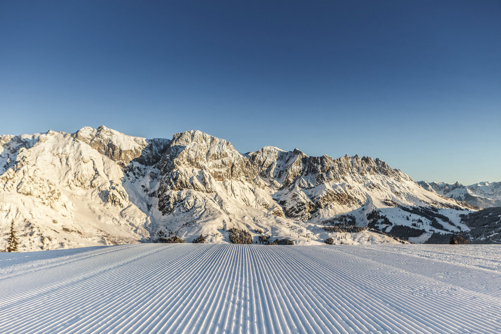 Ausblick im Skigebiet Hochkönig - © Hochkönig Tourismus GmbH