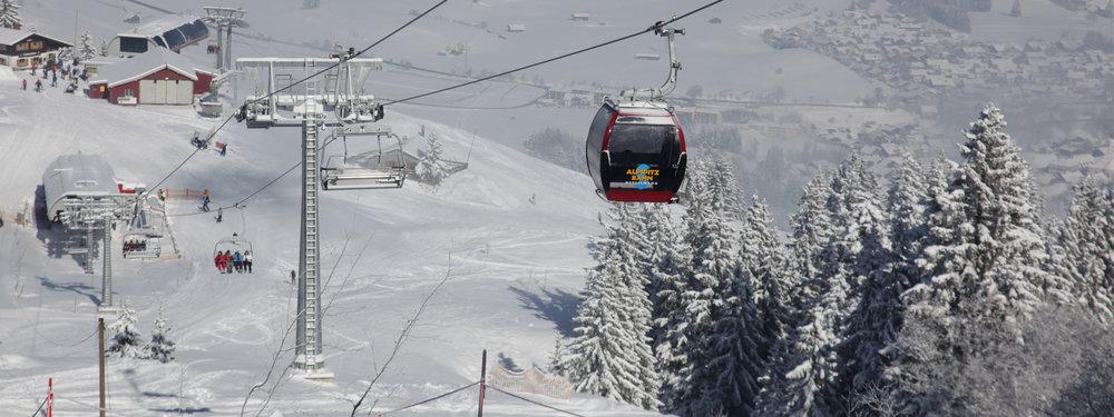 Das Skigebiet Alpspitz Nesselwang - © Nesselwang Marketing GmbH