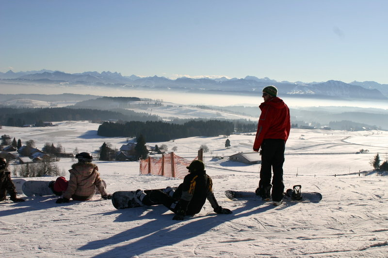 Snowboarder am Buchenberg  - © www.buchenberg.de