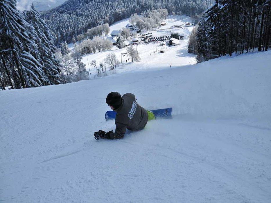 Skigebiet Eck-Riedelstein im Bayerischen Wald