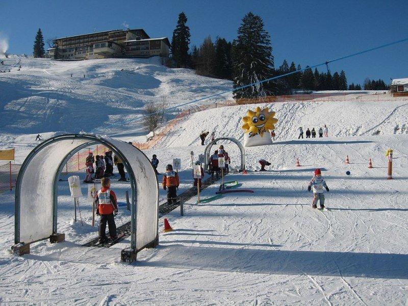 Kinderlift im Skigebiet Fischen