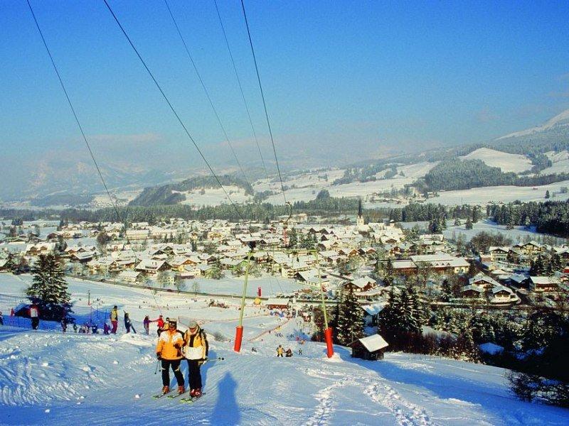 Überblick Skigebiet Fischen im Allgäu