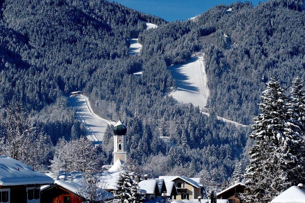 Skigebiet AktivArena Kolbensattel bei Oberammergau - © © AktivArena am Kolben GmbH & Co. KG, Matthias Fend