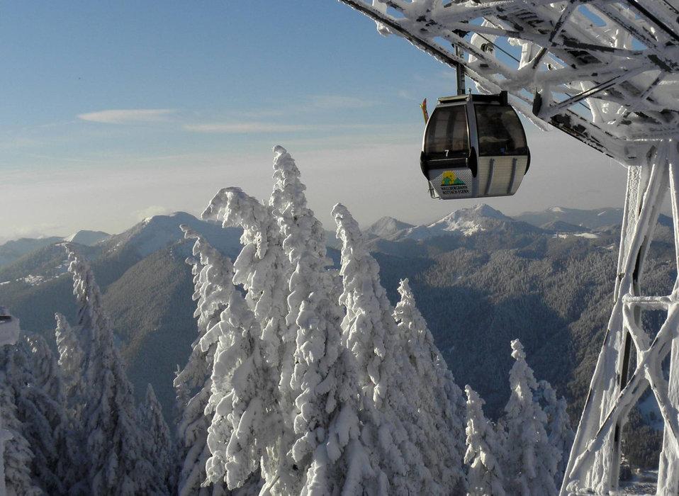 Wallbergbahn im Skigebiet Rottach-Egern - © Wallbergbahn | Eugen Gebhard
