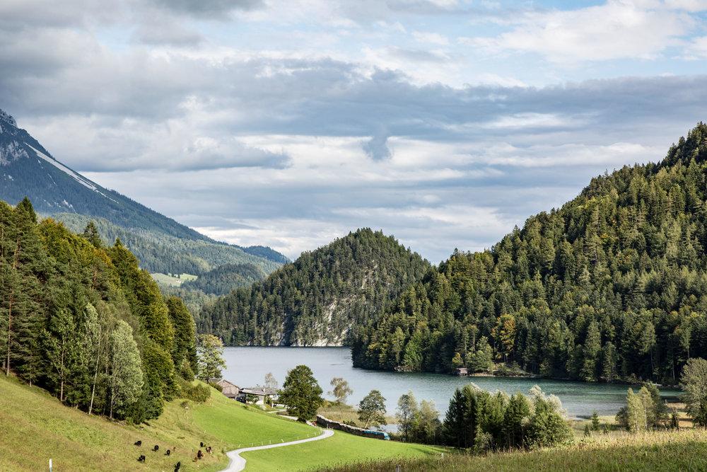 Herbsttour am Wilden Kaiser: Bärnstatt - Scheffauer (2111m) - Hintersteiner See - ©Bergleben.de