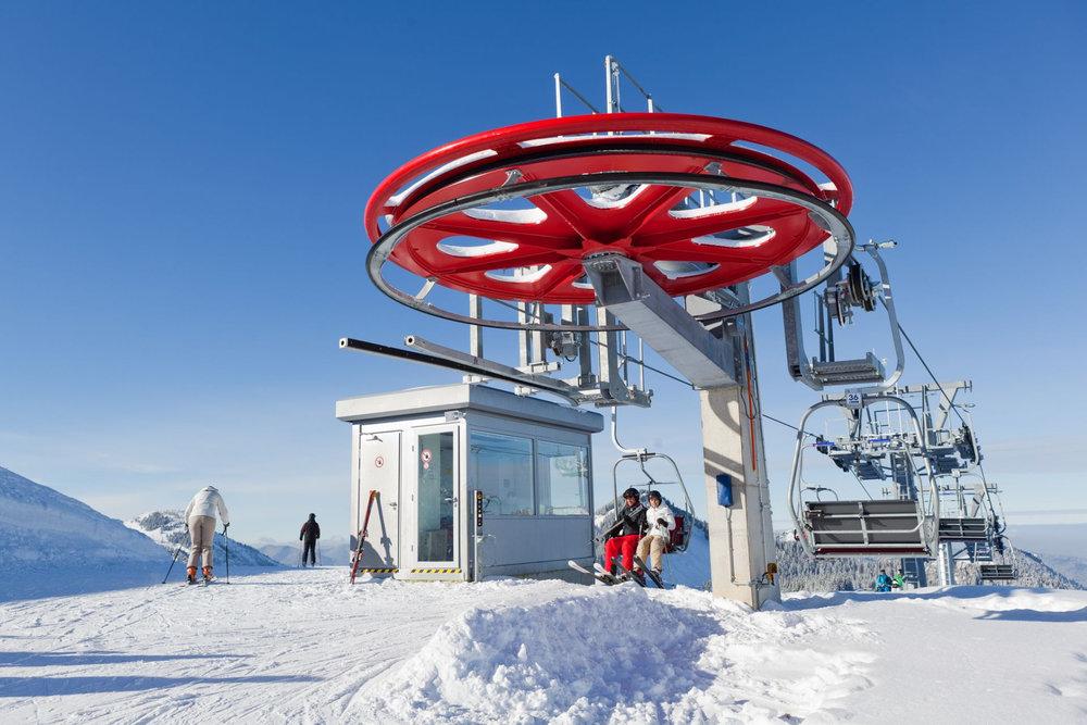 Bergstation Roßkopf im Skigebiet Spitzingsee - © Alpenbahnen Spitzingsee